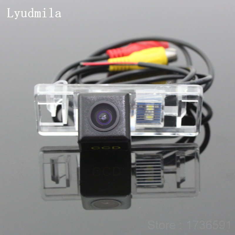 Lyudmila FOR Peugeot 3008 3008CC 5D Crossover 2008~2012 / Car Reverse Parking Camera / Rear View Camera / HD CCD Night Vision