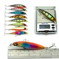 43 шт.  Смешанная искусственная приманка для рыбалки  приманка для рыбалки  набор жесткой приманки  приманка для рыбалки  привлекательная при...
