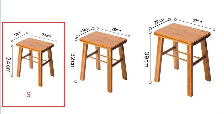 Pleasant Low Stool Child Solid Wood Household Adult Round Stool Theyellowbook Wood Chair Design Ideas Theyellowbookinfo