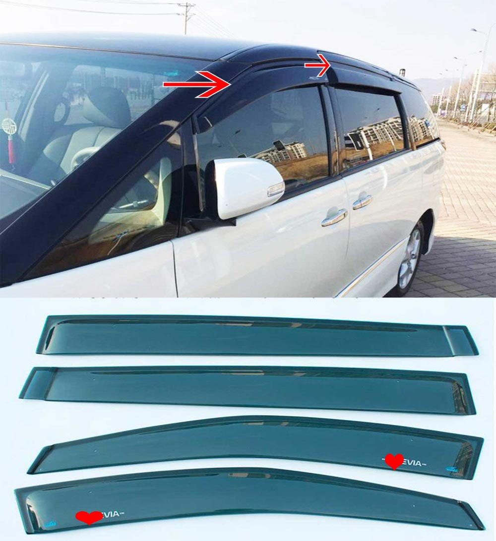 For Toyota Estima 50 Acr50 Gsr50 Previa 2007 2017 Window Rain Fuse Box Eyebrow Visor In Awnings Shelters From Automobiles Motorcycles On Alibaba