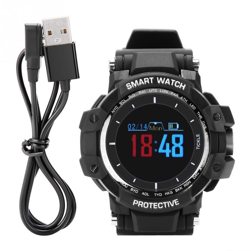 Tragbare Geräte Unterhaltungselektronik Ehrlich 0,95 Inch Oled Farbe Bildschirm Armband Bluetooth 4,0 Smart Uhr Sport Armband Uhr Pedometer Smart Uhren 2018 Neue Stil Freigabepreis