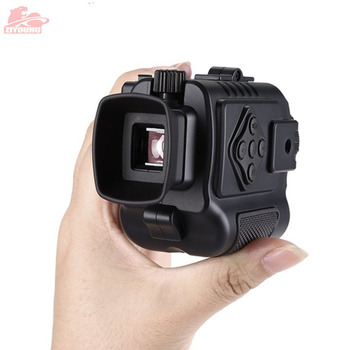 Mini HD Digital Night-Vision Device Infrared Camera Camcorder Monocular Pocket-sized Night Viewer Scope for Day & Night Hunting