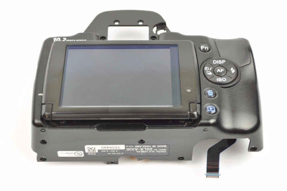FREE SHIPPING! 95%New For Sony A330 Rear Back Cover With LCD Screen Repair Part винный шкаф caso wineduett touch 21