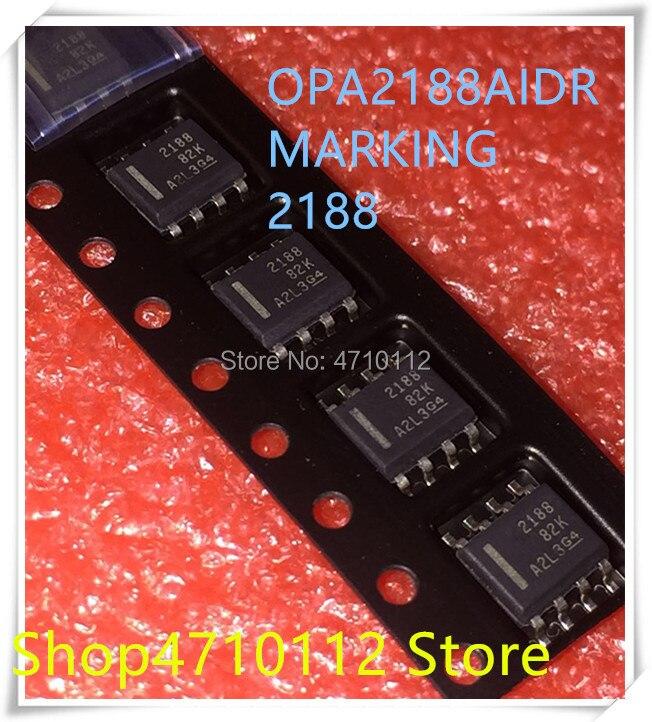 NEW 10PCS LOT OPA2188AIDR OPA2188AID OPA2188 MARKING 2188 SOP 8 IC