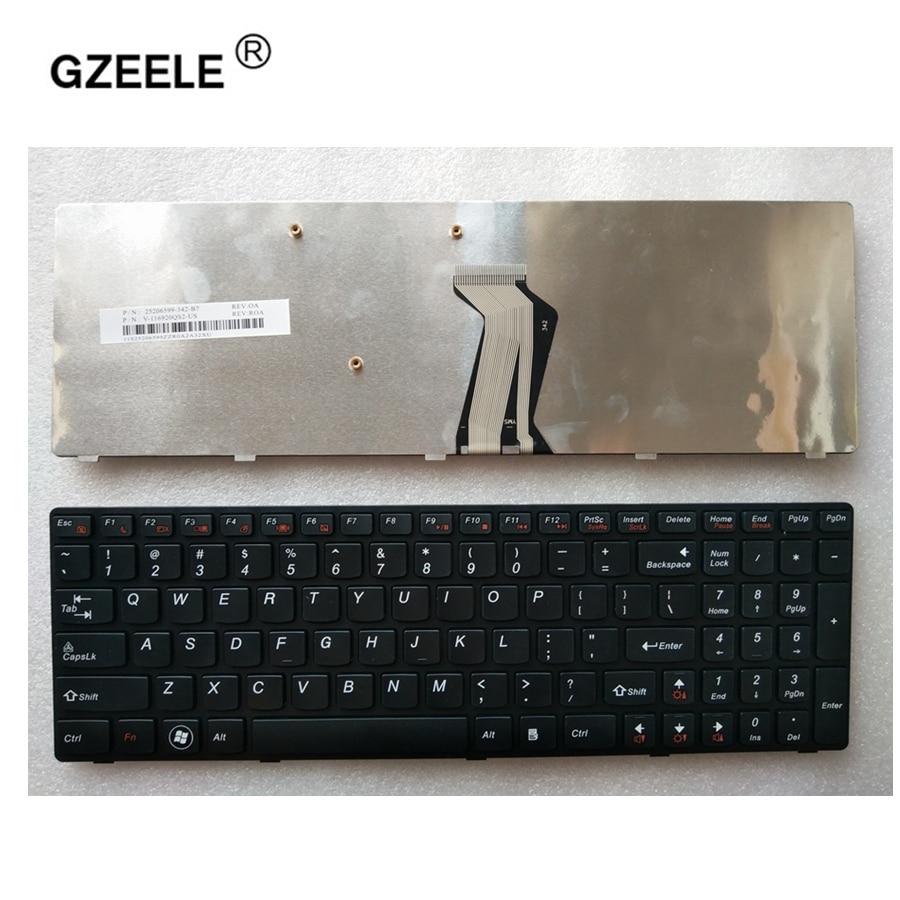 GZEELE Hot selling! New Laptop English Keyboard for Lenovo Ideapad Y580 Y580N Y580A Y590 Y590N US keyboard black GZEELE Hot selling! New Laptop English Keyboard for Lenovo Ideapad Y580 Y580N Y580A Y590 Y590N US keyboard black