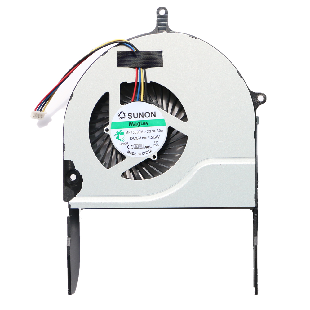 New Original Cpu Fan For Asus N751 N751J N751JV N751JK Cpu Cooling Fan MF75090V1-C370-S9A santa claus drives a sleigh print stair stickers