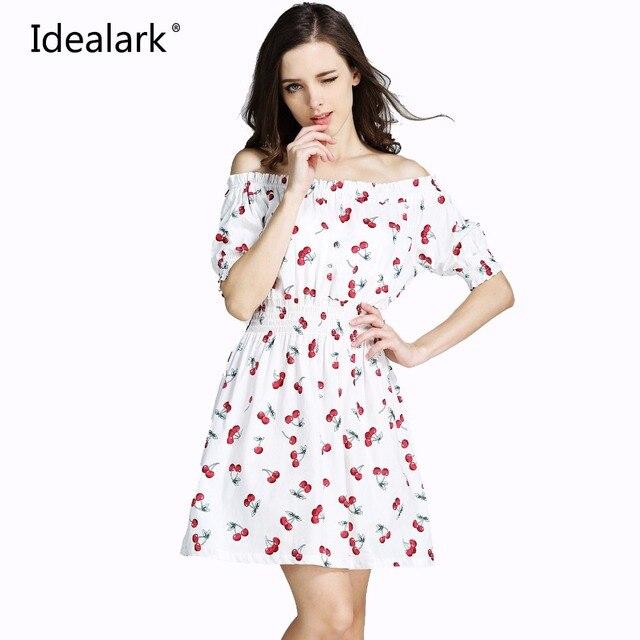 pure cotton New 2017 plus size summer autumn Women Dress ukraine Casual sexy wide boat neck beach Dresses maxi Vestidos WC0584-1