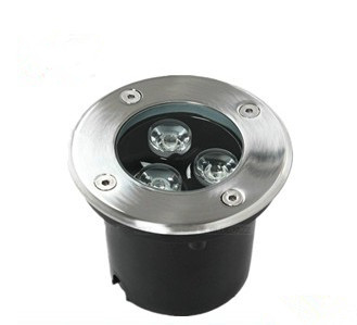 Outdoor waterproof spot Garden led deck light  1w 3w DC12v AC85-265v for stair step lighting
