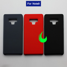 цена на For Samsung Galaxy Note9 Soft Liquid Silicone Back Cover Case NOTE 9 Silky Soft-Touch Protective Cover Anti-Wear Hard Back Case