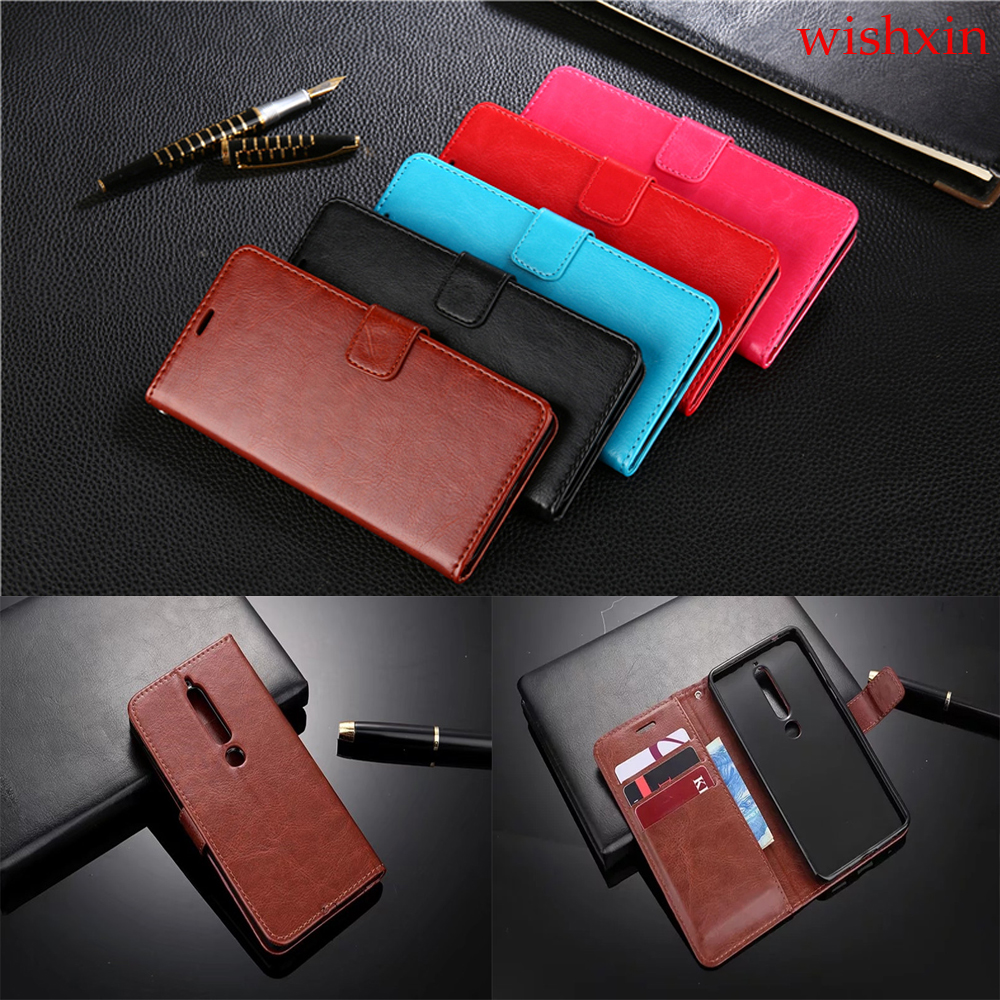 Premium Wallet Leather <font><b>Case</b></font> For <font><b>Nokia</b></font> 1 2 3 <font><b>5</b></font> 6 7 8 9 X6 For <font><b>Nokia</b></font> 2.1 3.1 <font><b>5</b></font>.1 3.2 4.2 7.2For <font><b>Nokia</b></font> 6.1 2018 8 SiroccoFlip <font><b>Case</b></font> image