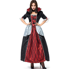 New Arrival Women Royal Court Vampire Costume Halloween Ghost Cosplay Clothing iwish halloween wind up green ghost goblin zombies jump vampire winding walking frankenstein jumping kids toys all saints day