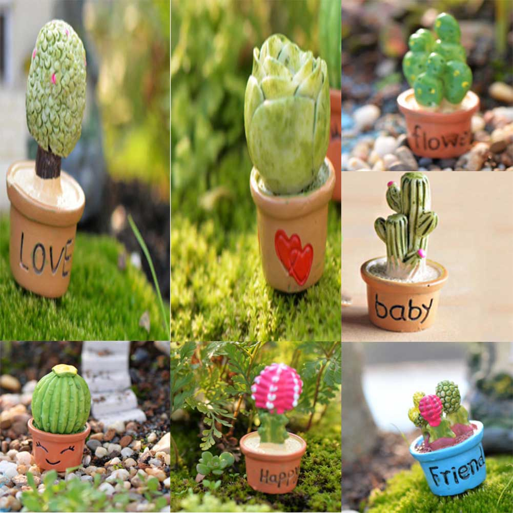 Miniature,Moss landscape ecology bottled micro simulation small potted plant with the word ornaments DIY assembly Decoration