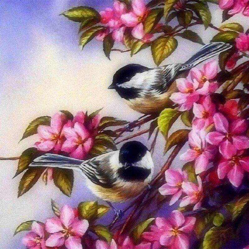Алмазная мозаика птицы картинки