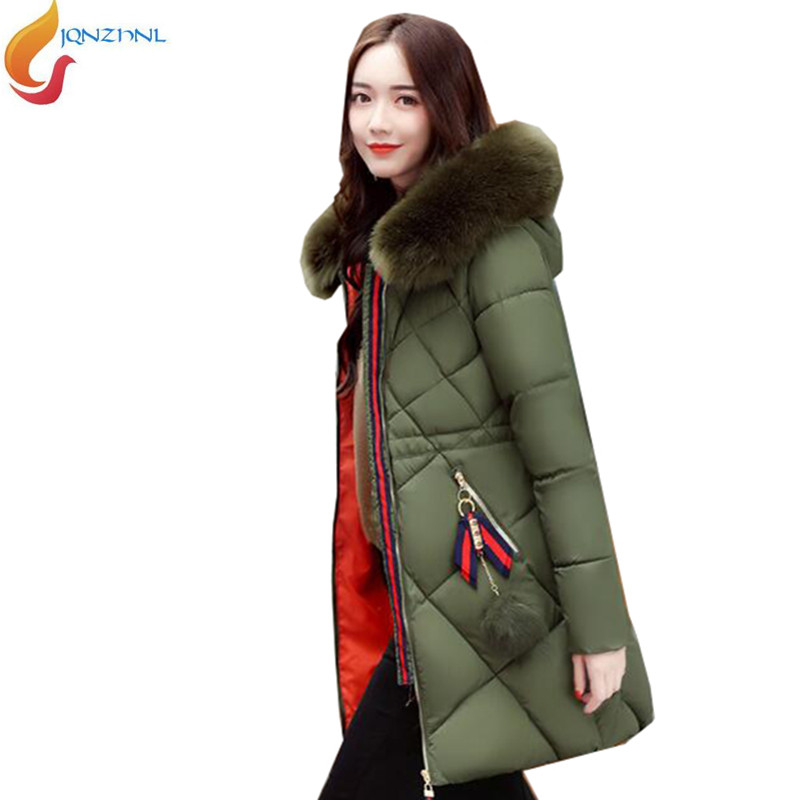 Womens Collar Size Padded Plus 28 Images Winter Jacket Cotton Coat Slim Fit Parkas New