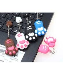 High Quality USB Flash Drive Cute Lovely Cat Claws PenDrive Women Flash Memory Stick Pen Drives U Disk 4gb 8gb 16gb 32gb 64gb