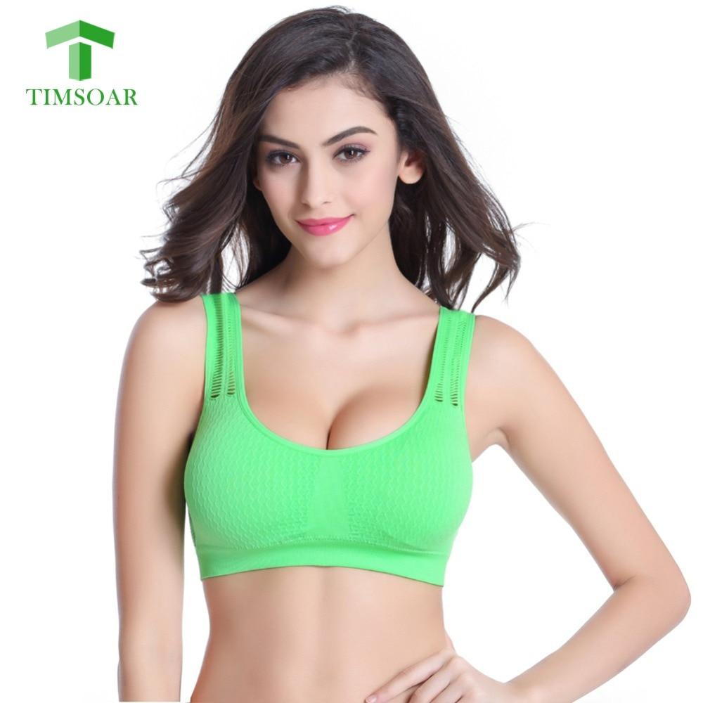 Timsoar Women Yoga Sleeveless Shirts Sports Bra Crop Tops