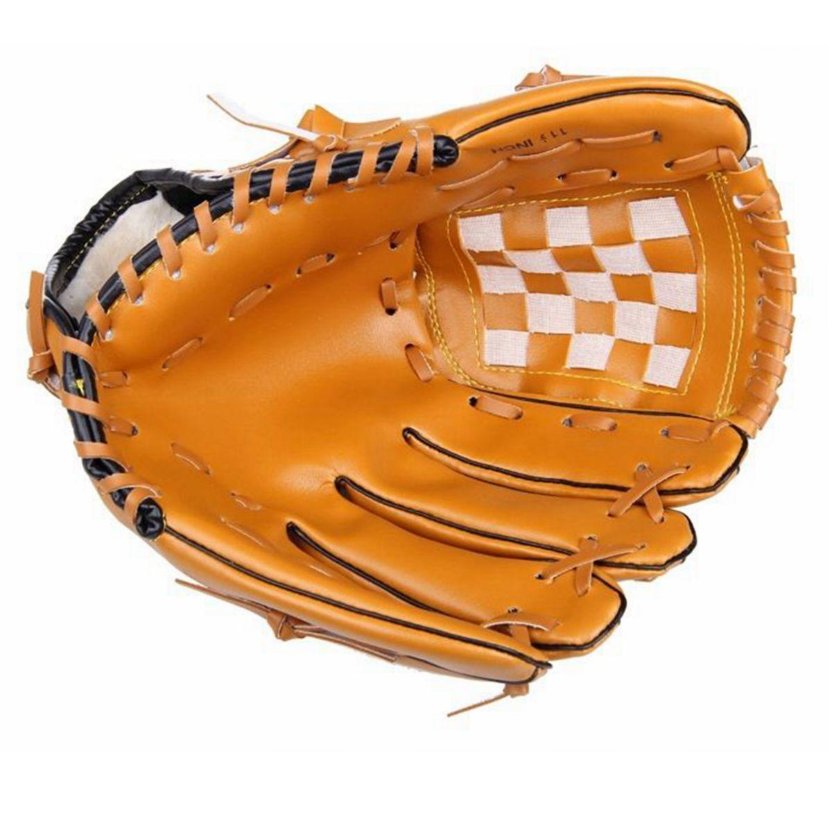 ZuverläSsig Pvc Outdoor Sport Baseball Handschuhe Erwachsene Mann Frau Tragbare Praxis Ausrüstung Ausbildung Hardball Softball Baseball Handschuh ZuverläSsige Leistung Sport Zubehör Sport & Unterhaltung