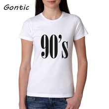 t shirt women 90s Letter Print Summer 2019 O-Neck Short Sleeve Funny Plus Size Tops camisas mujer korean clothes