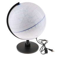 LED World Globe for Home Office Decor School Science Education DIY Globe
