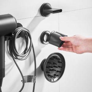 Image 2 - Uchwyt ścienny suszarka do włosów stojak do przechowywania półka łazienkowa do suszarki do włosów Dyson Supersonic