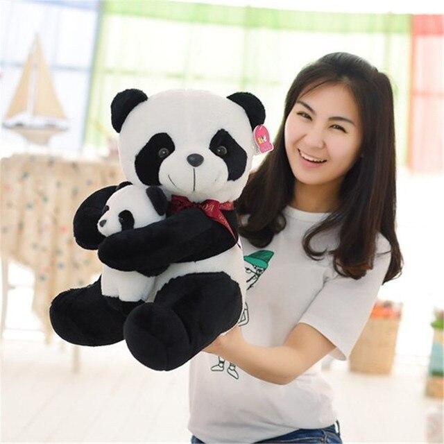 Плюшевая игрушка панда отец и сын 1