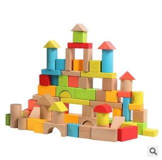 Acheter en bois 82 pcs grosses particules for Bloc construction bois