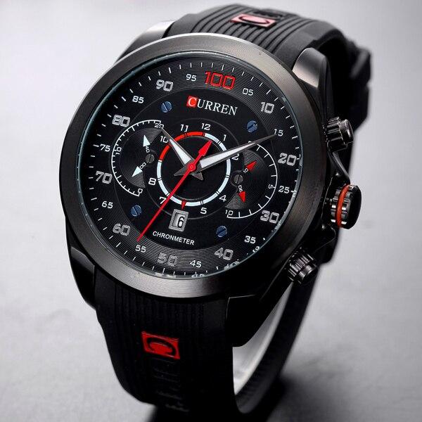 CURREN New Men's Watches 2018 Brand Luxury Men Fashion Sports Quartz Watch Man Casual Business Date Wristwatch Relogio Masculino