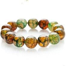 Women Bracelet Natural Stones Buddha Bracelet