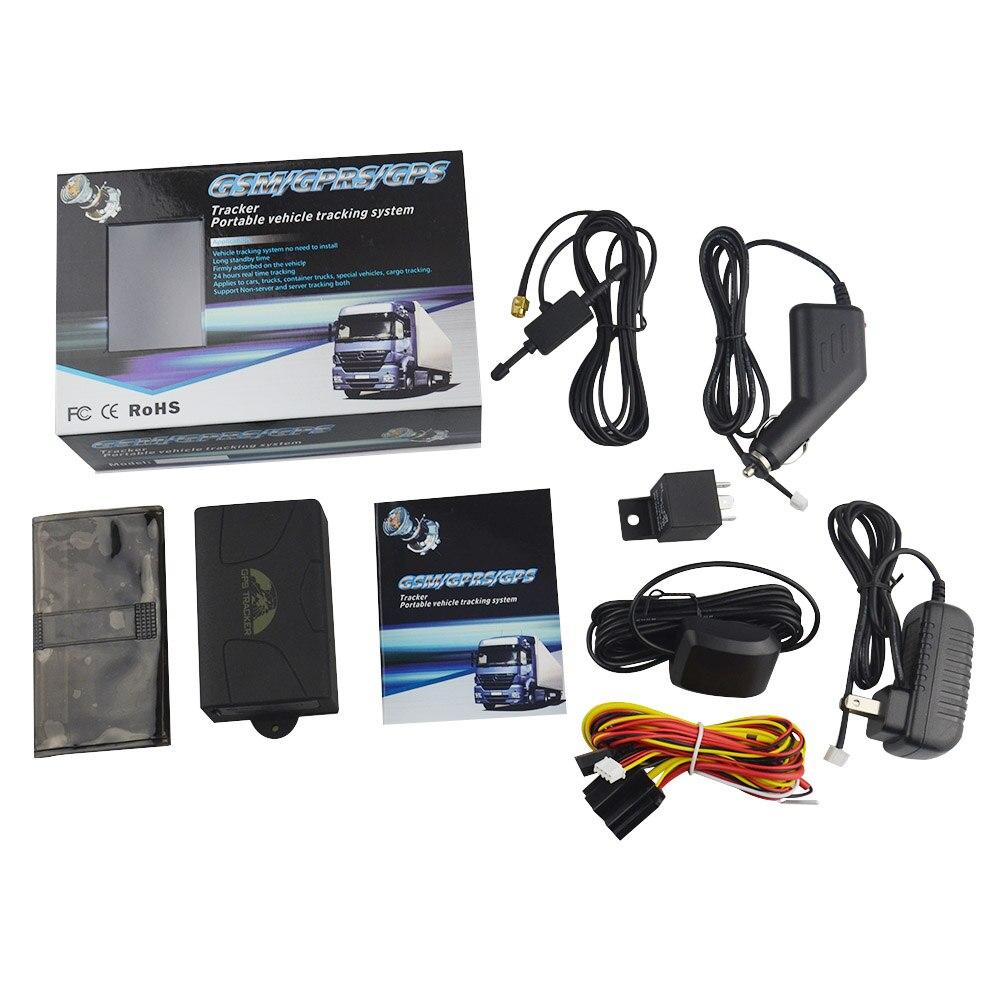 10 pièces Réel Coban GPS Tracker TK104B GPS104B GSM Emplacement Suivi en temps Réel Dispositif de Voiture Aimant Puissant Construit en 6000mA Batterie