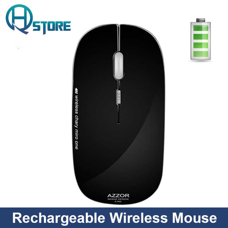 Тонкая беспроводная компьютерная мышь с бесшумной кнопкой 2400 dpi USB перезаряжаемая мышь 2,4 GHz N5 для девочек и женщин для ПК и ноутбука