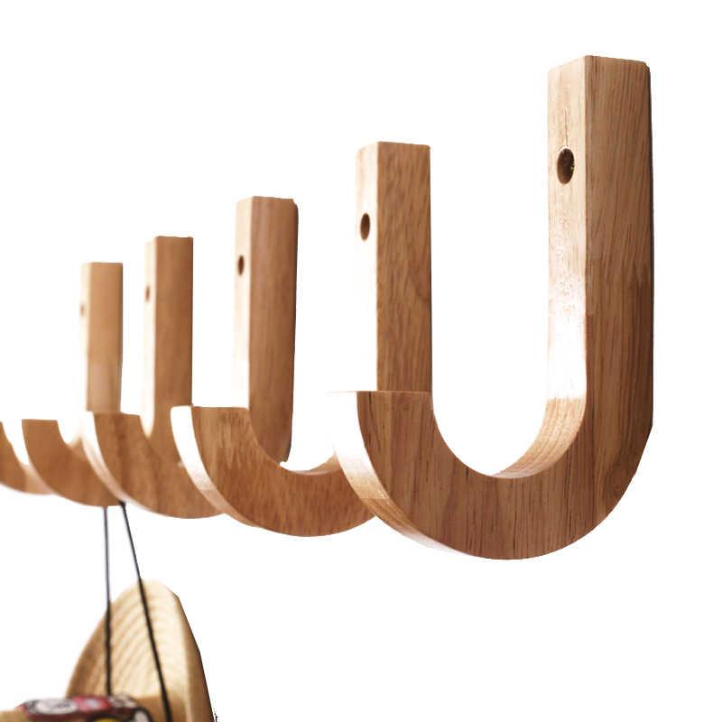 деревянная вешалка для хранения ключей настенные вешалки для одежды деревянная вешалка для одежды крючок настенная вешалка деревянные крючки для