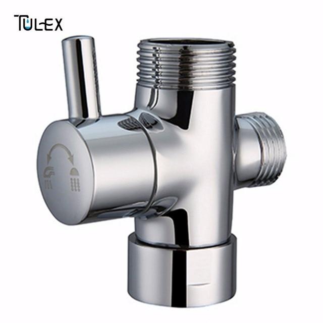 Beau Faucet Shower Diverter 3 Way Shower Arm Diverter 2 Functions Shower Faucet  Valve For Shower Mixer