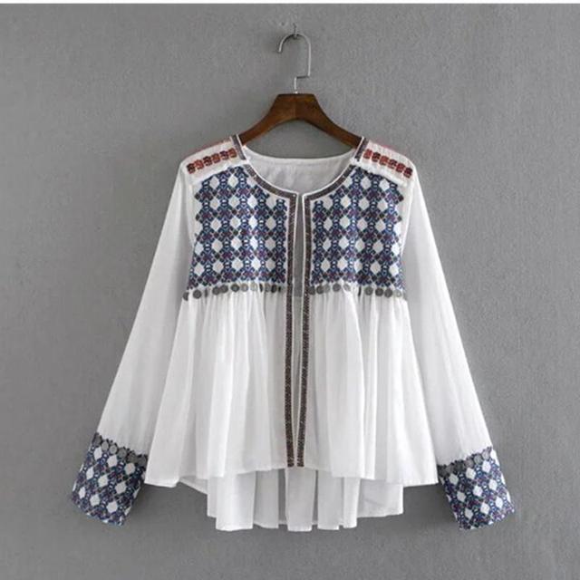 Étnico Monedas Bordado Chaqueta de 2016 Nuevas Mujeres de La Borla de Flecos Falda hem Loose Kimono Chaqueta de Abrigo Protector Solar prendas de Vestir Exteriores Femme