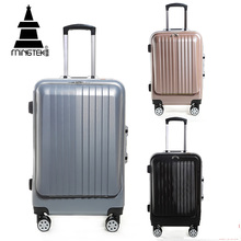 MINGTEK Brand Business Travel Suitcase 20Inch 24 Inch Suitcases With Wheels Road 2017 Fashion Trolley Travel Bag Hand Luggage