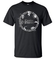 Game Of Thrones Men T Shirt 2017 Summer Hip Hop Men Short Sleeve Shirt 100 Cotton