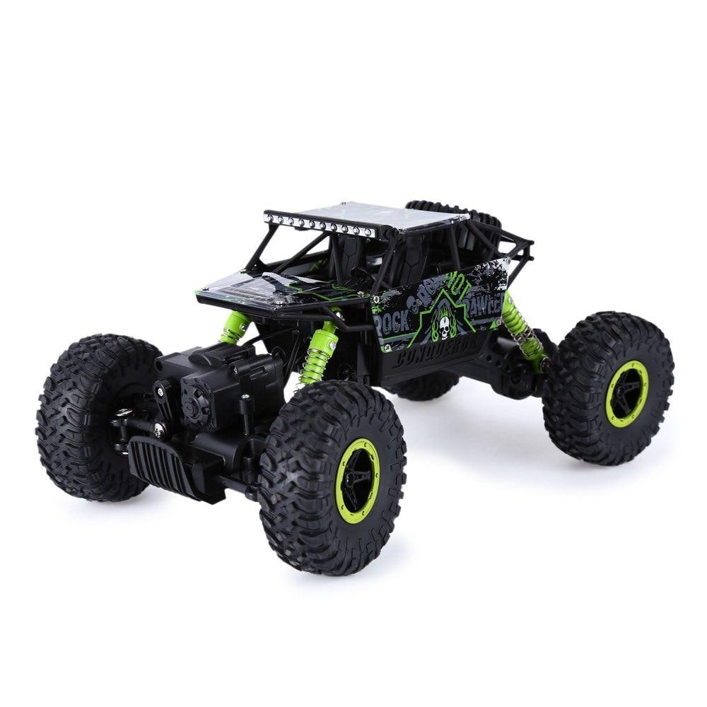Hot Sale RC Car 2.4Ghz 4WD 1/18 4 Wheel Drive Rock Crawler Rally Car 4×4 Double Motors Bigfoot car Off-Road Vehicle Toys
