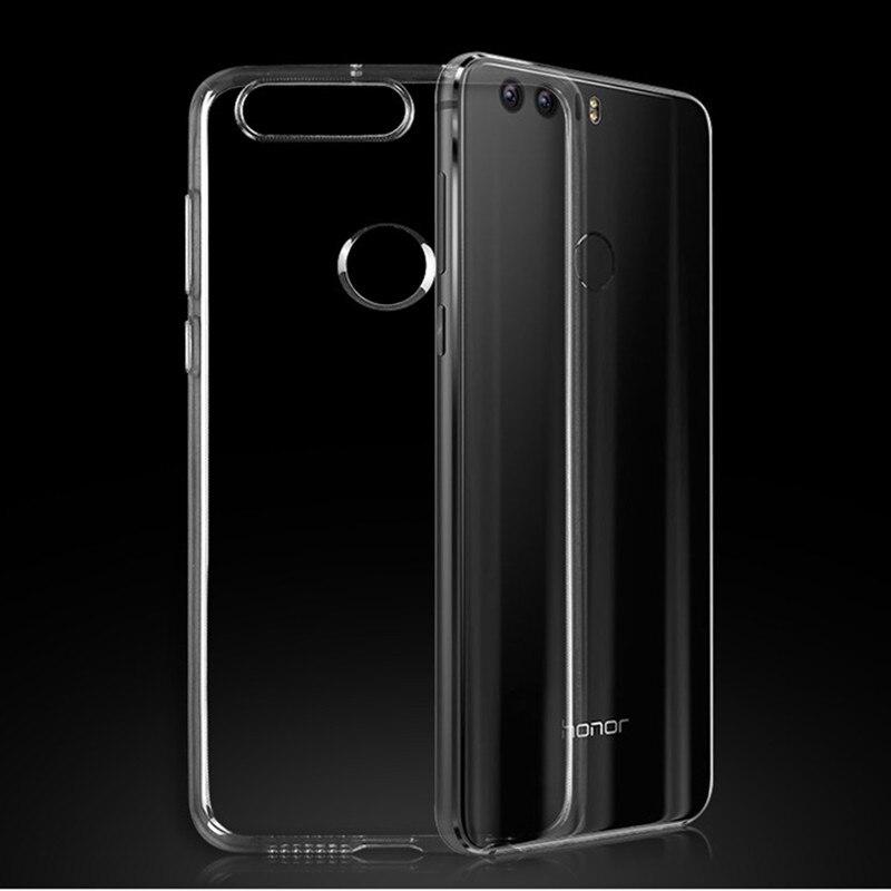Clear TPU Rubber Case for Huawei P20 P10 P9 Plus P8 Lite Nova Mate 10 7 8 9 Pro Honor V8 Note 8 7 7C 7i 6X 5X 5C Silicone Coque
