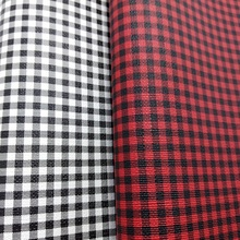 2PCS A4 SIZE Faux Leather Fabric Printed TARTAN PLAIDS GRIDS PU Leather  Fabric Sewing Fabric Fabric bca3d6429f1b