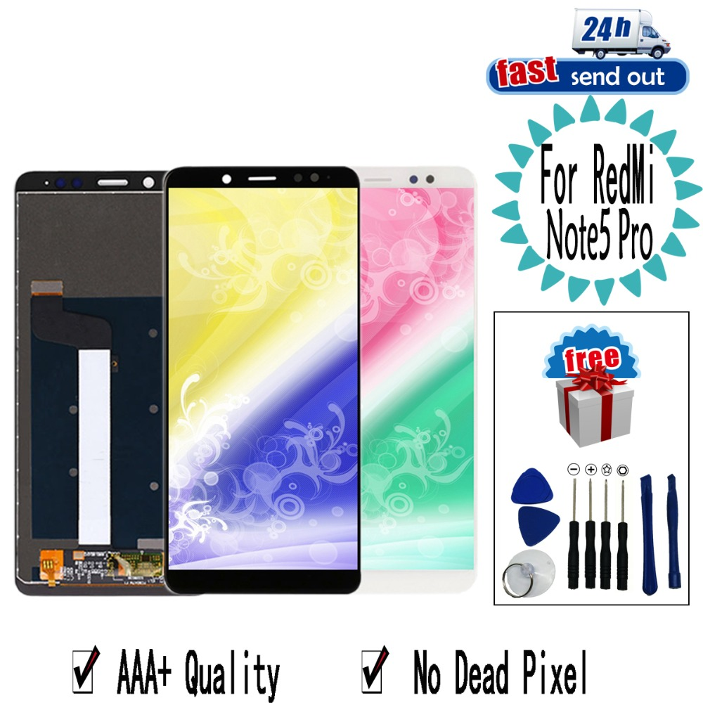 <font><b>LCD</b></font> For Xiaomi <font><b>Redmi</b></font> <font><b>Note</b></font> <font><b>5</b></font> <font><b>Pro</b></font> <font><b>LCD</b></font> Display For Xiaomi <font><b>Redmi</b></font> <font><b>Note</b></font> <font><b>5</b></font> Touch Screen Tested Digitizer Assembly image