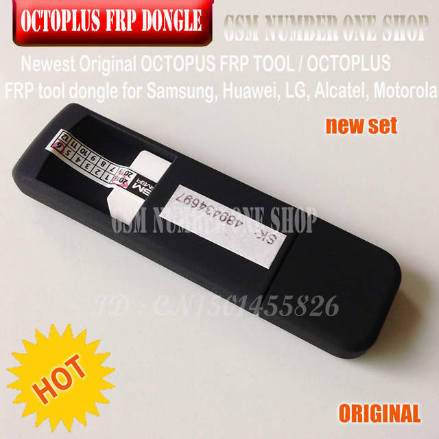 US $62 85 |2019 ORIGINAL NEW OCTOPLUS FRP TOOL dongle for Samsung, Huawei,  LG, Alcatel, Motorola cell phones-in Telecom Parts from Cellphones &