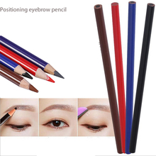 12 pcs Waterproof Eyebrow Lip Tattoo pencil Liner Positioning Longlasting permanent Makeup eyebrow Pencil Cosmetics Beauty tool