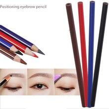 Crayon à sourcils imperméable pour les lèvres, accessoire de beauté, maquillage permanent et durable, 12 pièces
