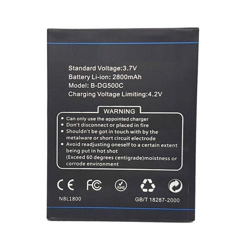 2800mAh Battery For Doogee (Discovery 2) DG500 DG500C B-DG500C Batteries
