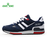 Bage 2016 New Mens Fitness Sports Shoes Breathable Cushioning Men Running Shoes For Men Lightweight Mesh