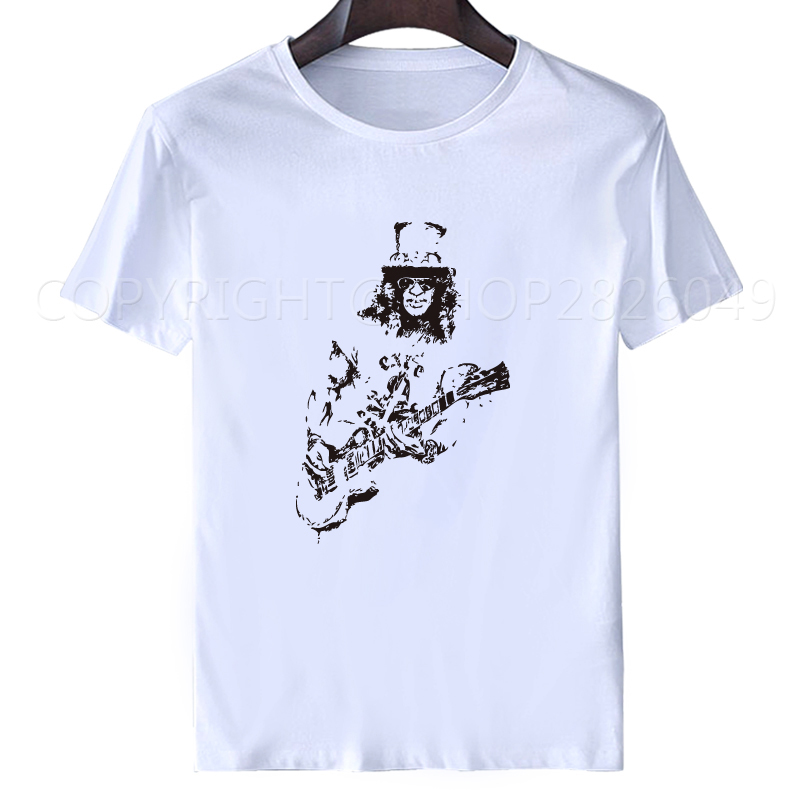 summer tops for women 2018 men t shirt Guns N Roses slash Rock Mens T-Shirt Sleeve Camisetas Hombre s-XXXL