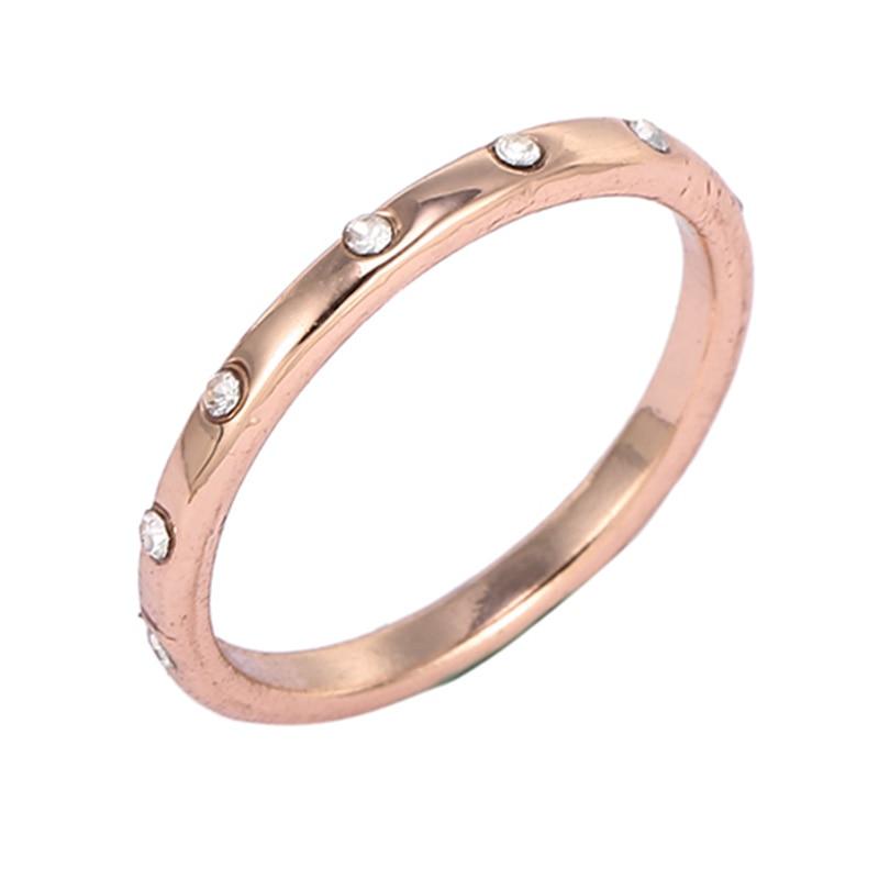 Горячая Распродажа серебряных колец с бантиком для женщин и девушек, сверкающий циркон, подходящие для тонких колец, свадебные ювелирные изделия, Прямая поставка - Цвет основного камня: N30