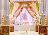 3 м * 3 м * 3 м Романтическая радуга площади полог Пелерина/хупы/arbor Пелерина с swag для Свадебные украшения, в том числе драпировкой и подставка