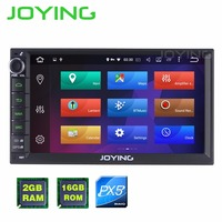 JOYING 7 PX5 Octa Core 2GB 16GB Android 6 0 2 Din Tape Recorder Stereo GPS