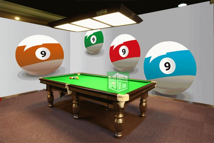Photo wallpaper Table tennis hall billiard room wallpaper decoration mural wall painting personalized custom non-woven wallpaper