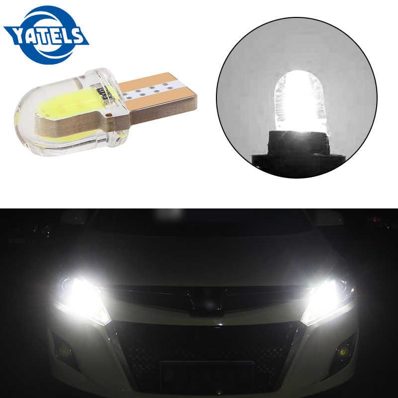 1 Pcs T10 W5W WY5W 501 168 2825 Silica Gel COB Lampu LED Silicone Shell Tahan Air Auto Baji Turn Sisi lampu Mobil Lampu Penanda